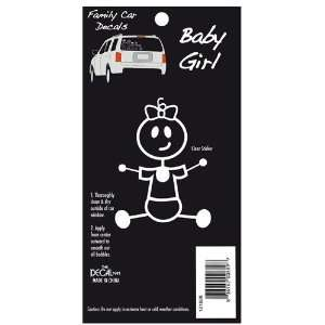 Baby Girl Family Car Decal Toys & Games