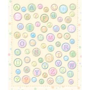 Baby Alphabet Clearly Yours Epoxy Stickers Arts, Crafts & Sewing