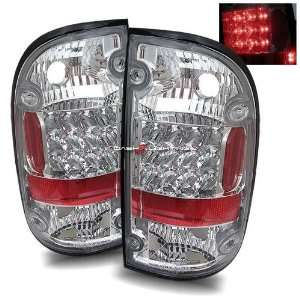 95 00 Toyota Tacoma LED Tail Lights   Chrome Automotive