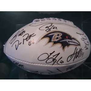2011 12 Baltimore Ravens Ray Rice Signed Autographed Full