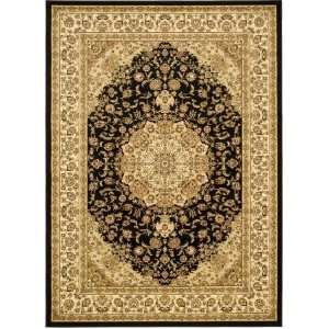 Safavieh Lyndhurst Collection LNH222A Black and Ivory Area