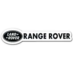 Land Rover Range Rover Racing Sport Car Bumper Sticker