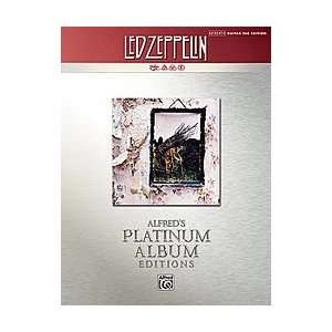 Led Zeppelin    IV Platinum Guitar Musical Instruments