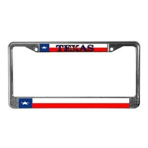 Texas Texan State Flag Texas License Plate Frame by