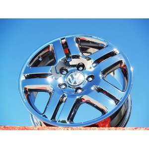 TouaregManhattan Set of 4 genuine factory 18inch chrome wheels