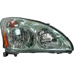 OE Replacement Lexus RX330 Passenger Side Headlight Assembly Composite