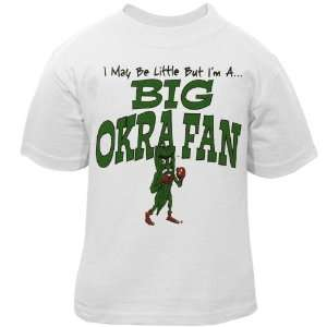 NCAA Delta State Fighting Okra Toddler White Big Fan T