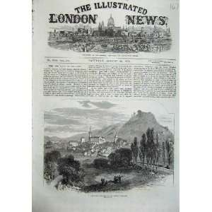 1870 War Forbach French Frontier Mountains Fine Art