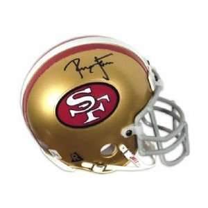 Mounted Memories San Francisco 49Ers Ronnie Lott Autographed Mini