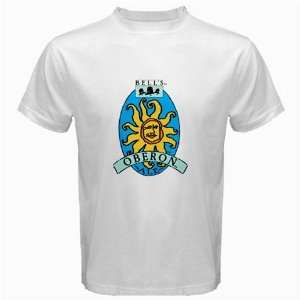 Bells Oberon Beer Logo New White T Shirt Size  S, M ,L