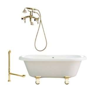 Giagni LP1  Portsmouth 60 Dual Tub with Wall Mount Faucet