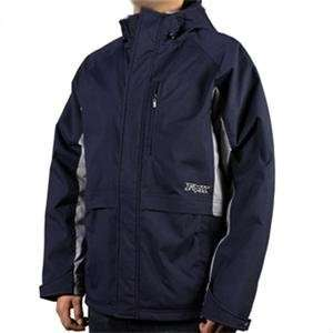 Fox Racing Grandstand Jacket   Large/Navy Automotive