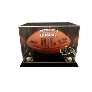 Kansas City Chiefs Deluxe Football Display Case Sports