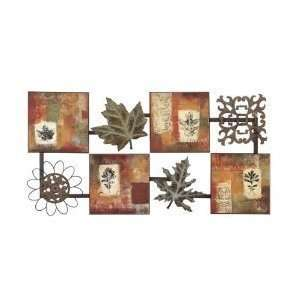 Exclusive Autumn Leaves Wall Art Decor Sculpture