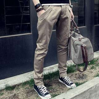 New Arrival Mens Korean Stylish Comfort Cotton Slim Fit Casual Harem