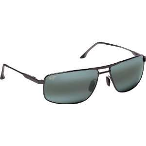 com Maui Jim Kapena 207 Sunglasses, Gunmetal / Grey Lens, Sunglasses