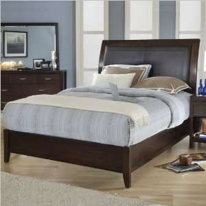 Modus 2O26L Urban Loft Low Profile Sleigh Bed in Chocolate