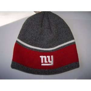 York Giants Beanie Knit Hat Cap Team Color Cuffless