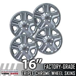 2007 2012 Jeep Wrangler 16 Chrome Wheel Skins Automotive