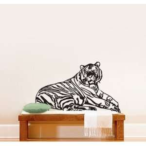 Vinyl Wall Art Decal Sticker Safari Tiger 30x43 #319