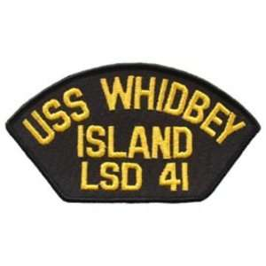 Navy USS Whidbey Island LSD 41 Patch 2 1/4 x 4 Patio, Lawn & Garden