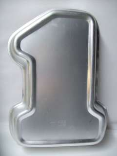 Wilton Number # 1 First Birthday Cake Pan Mold 502 1905