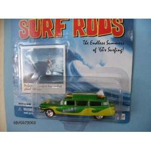Johnny Lightning Surf Rod Surf Daddies with 2 Surfboards