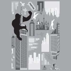 Decoration Wall Sticker Decal   King Kong New York
