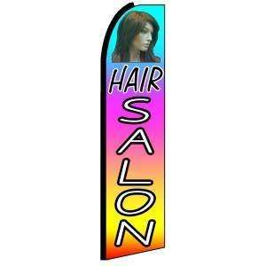 Hair Salon Multi Color Extra Wide Swooper Feather Business