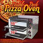 NEW LARGE ELECTRIC COMMERCIAL CATERING PIZZA OVEN STAINLESS STEEL
