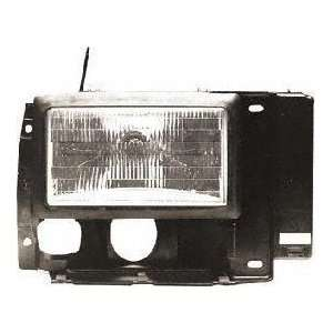 89 90 FORD BRONCO II HEADLIGHT RH (PASSENGER SIDE) SUV (1989 89 1990