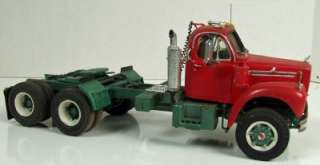 Mack, Truck/Tractor Built from Model Kit Vintage, 1/25 Scale