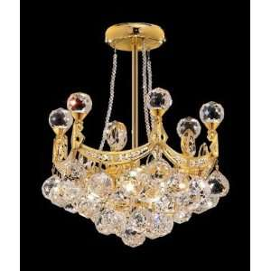 9801D14G Elegant Lighting Corona Collection lighting