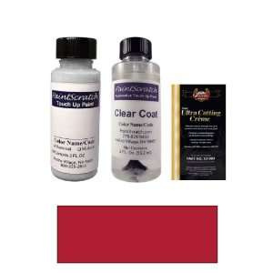 Oz. Ruby Red Pearl Metallic Paint Bottle Kit for 2003 Volvo S80 (454