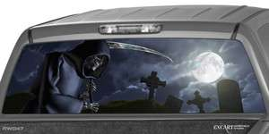 Cemetery Rear Window Graphic Tint Decal Sticker Truck Suv Jeep Ford