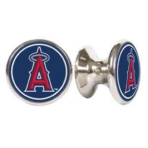 Los Angeles Angels MLB Stainless Steel Cabinet Knobs / Drawer Pulls (2