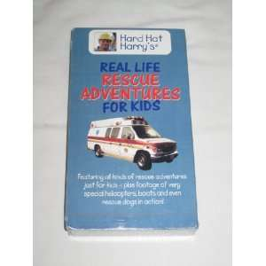 Hard Hat Harrys Real Life RESCUE ADVENTURES For Kids VHS