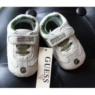 BNWT GUESS Boys G Star Bar Baby Boy Sneakers Shoes 6 12 18 months size
