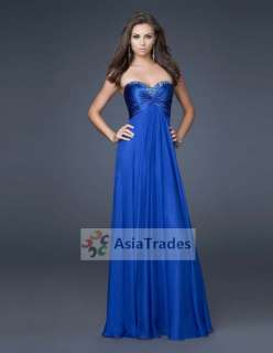 Hot Strapless Prom Party Evening Long Gown dress 6 16