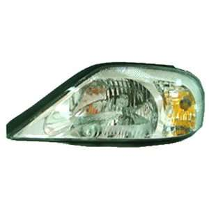 OE Replacement Mercury Sable Passenger Side Headlight Lens