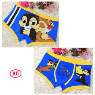 Cartoon SpongeBob SquarePants cotton Brief Boxer for Man Men Underwear