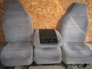 92 96 FORD BRONCO F150 F250 SEAT SEATS ONLY NO CENTER CONSOLE