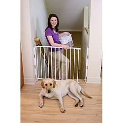Regalo 2 in 1 Top of Stairs Safety Gate