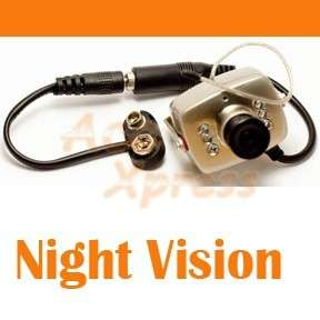 WIRELESS MINI SPY NANNY CAMERA CAM WITH NIGHT VISION