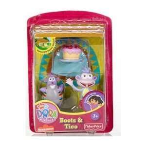 Dora the Explorer Talking House Playset Figures   Boots