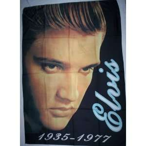 ELVIS 5x3 Foot Cloth Textile Fabric Poster