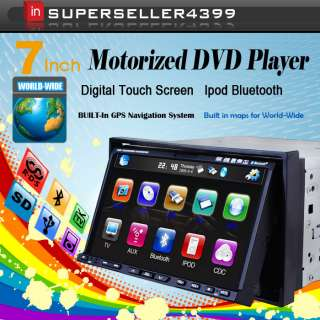 G2210U Touch Screen 2din car gps dvd Player+FREE CAMERA