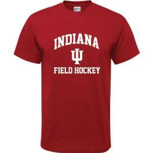 Cardinal Red Youth Field Hockey Arch T Shirt
