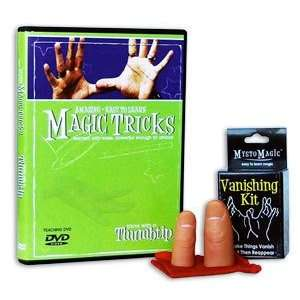 Easy Magic Tricks w/ Thumbtip & DVD KIT Toys & Games