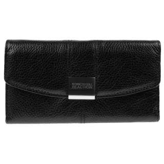 Kenneth Cole Reaction Leather Tri Fold Wallet Clutch